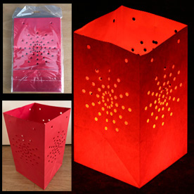 Red Candle Lanterns